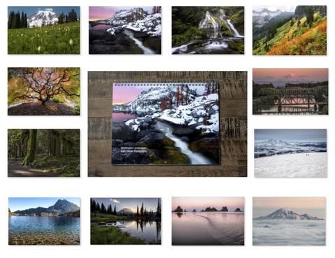 2019 Washington Landscapes Calendar