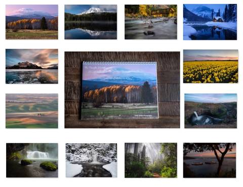 2020 Pacific Northwest Calendar