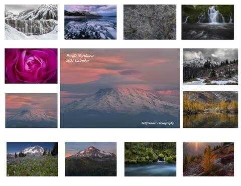 2021 Pacific Northwest Calendar