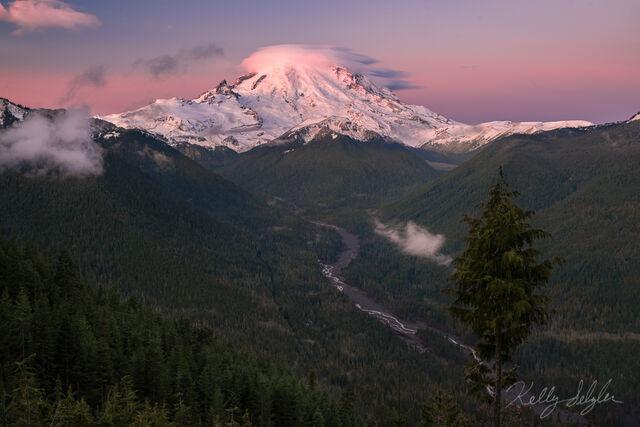 Rainier at Sunrise