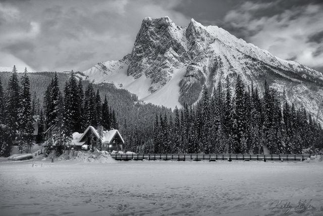Emerald Lake Winter