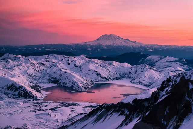 St. Helens Sunrise 2