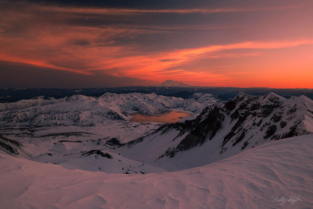 St. Helens Summit Sunrise