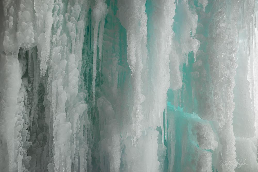 frozen, waterfall, banff, enchanting, canada, photo