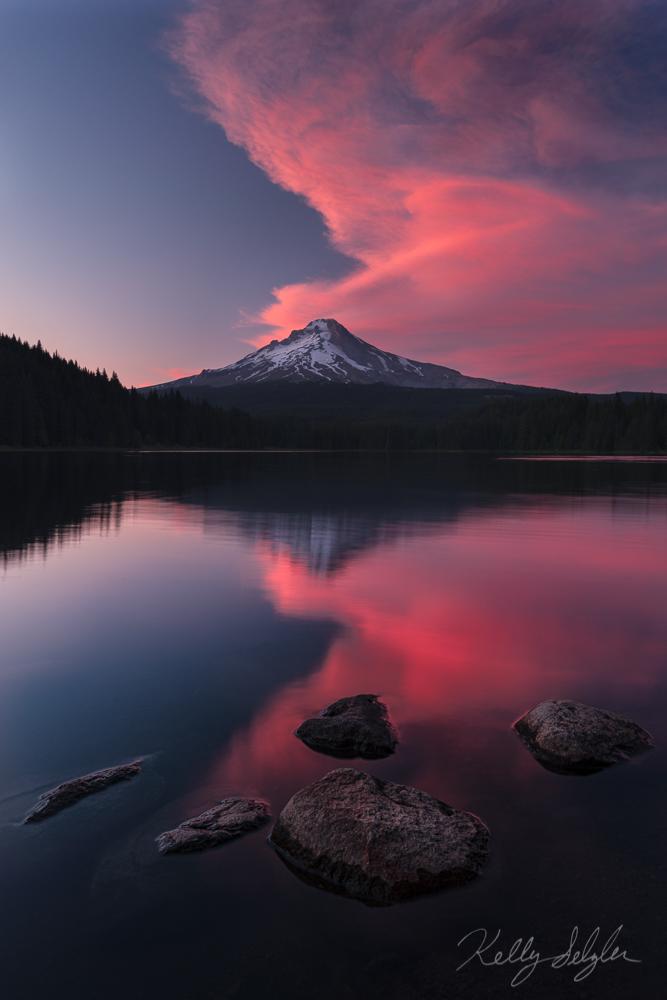 Trillium Sunset